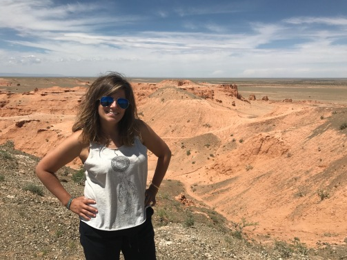 Une petite balade dans le désert de Gobi aux flaming cliffs