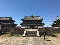 Temples dans la cite impériale de Karakorum