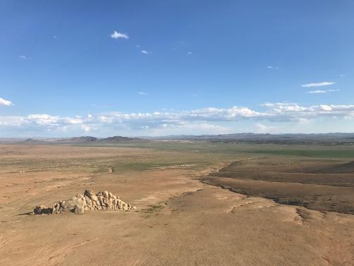 Visites des paysages splendides désert semi-gobi