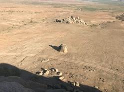 paysages splendides dans le semi gobi en Mongolie
