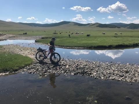 Randonnée à vélo ou à côté du vélo ?