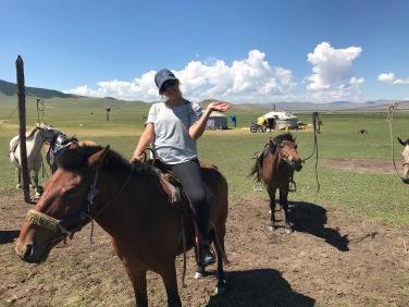 Balade à cheval en Mongolie en Arkhangai
