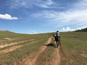 1 jour a cheval en Mongolie