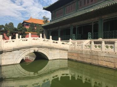 Un pont dans la Cité Interdite de Pékin