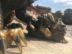 Union en bronze dans la Cité Interdite de Pékin