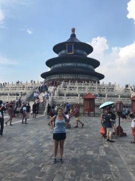 Le temple du Ciel entouré de touristes