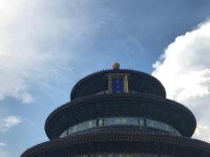 Temple du ciel vu d'en bas