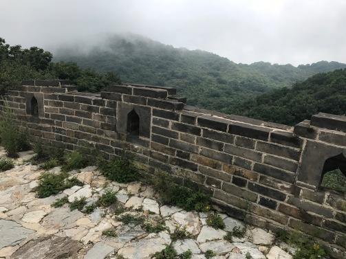 Lieu de protection pour les armées de la Muraille de Chine