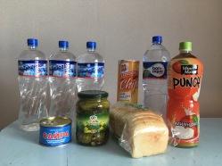 Repas acheté épicerie Mongolie