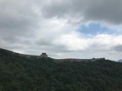 Visite muraille de Chine sous les nuages