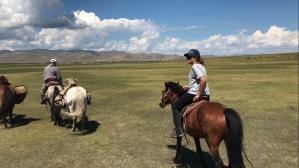 Le guide a cheval en Arkhangai
