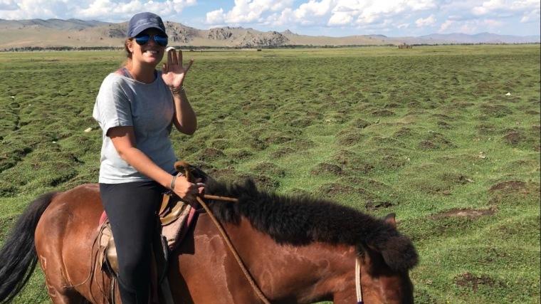 Tour a cheval a Tsetserleg