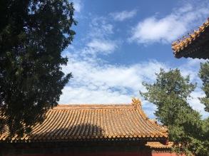 Du haut des toits de la Cité Interdite de Pékin