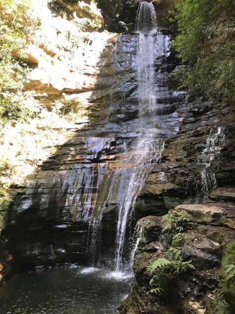 Une belle cascade du National Pass